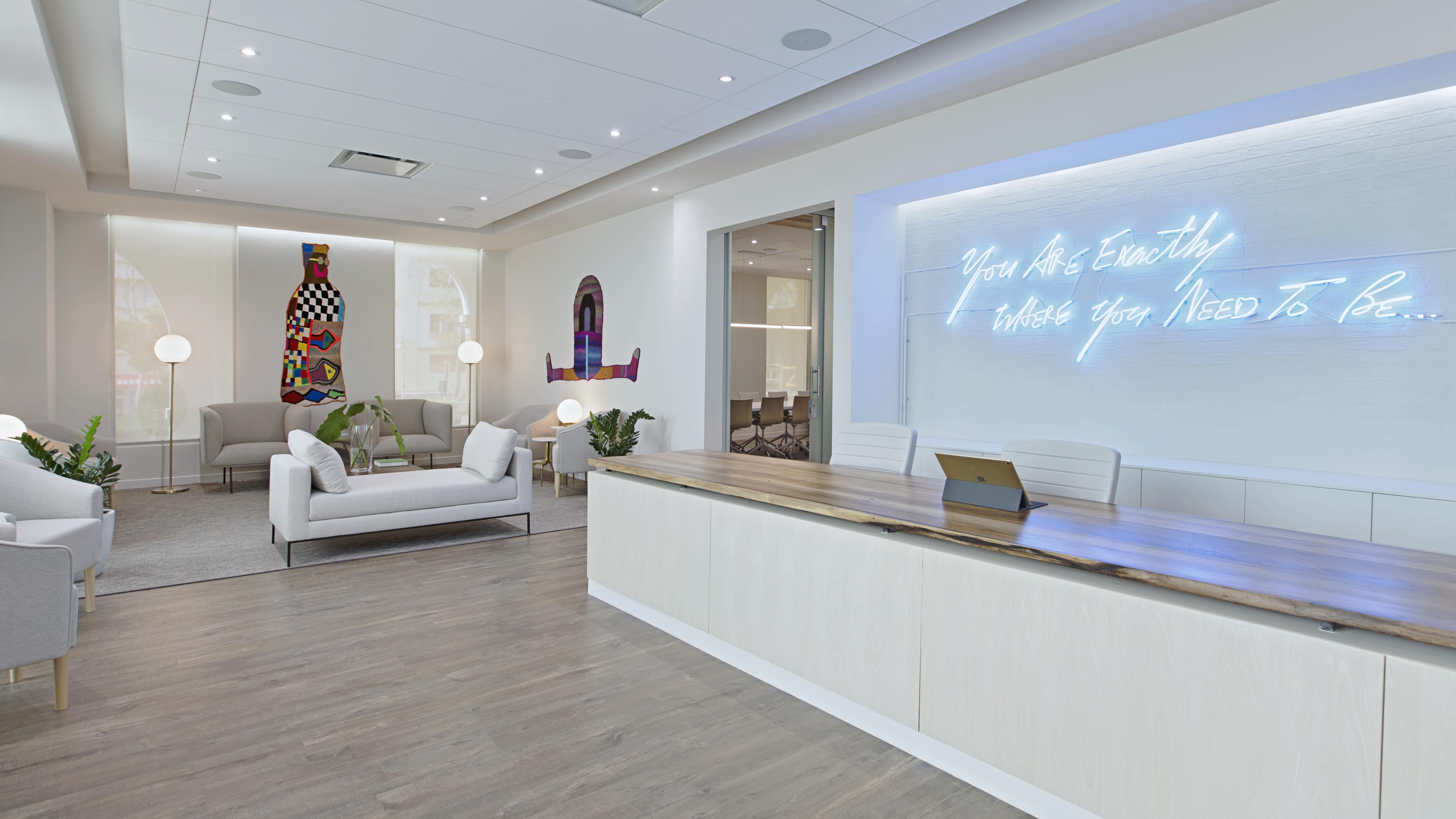 Pravan Clinic Reception Area